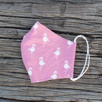 stoffmaske.de Flamingolove rosa